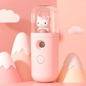 máy phun sương dưỡng ẩm da mặt hello kitty